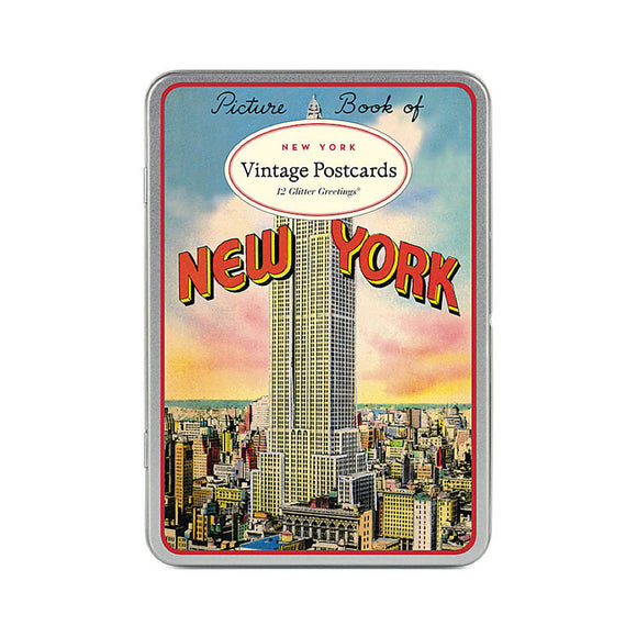 Postcards: Glitter Greetings Vintage New York - MeMe Antenna