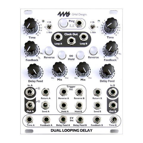 4ms Dual Looping Delay - MeMe Antenna