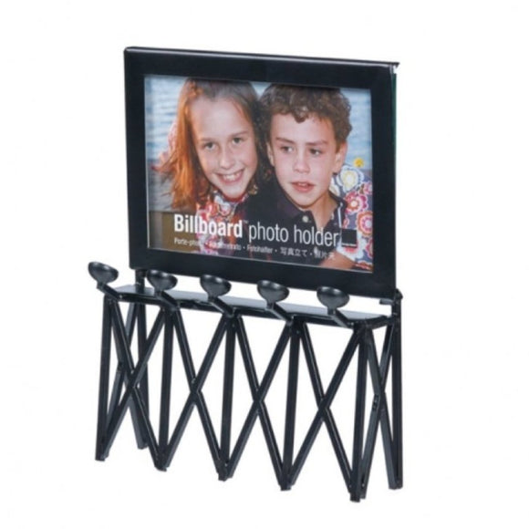 Billboard Photo Holder Black (4x6) - MeMe Antenna