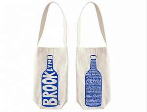 Wine Tote single - Brooklyn - MeMe Antenna