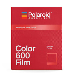 Polaroid Originals: Color Film for 600 - Metallic Red Frame Edition - MeMe Antenna