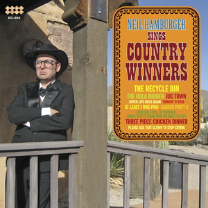 Hamburger, Neil - Sings Country Winners (Cassette) - MeMe Antenna