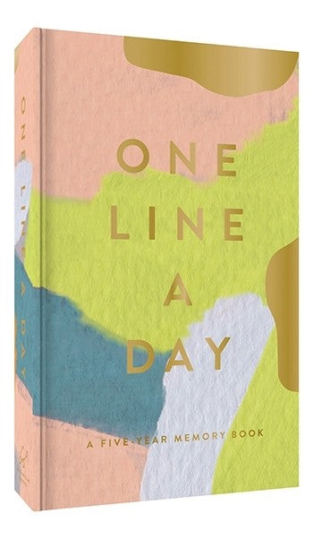 Modern One Line a DayA Five-Year Memory Book - MeMe Antenna