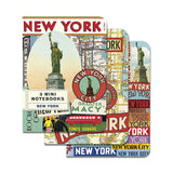 Mini Notebooks - New York Set of 3 - MeMe Antenna
