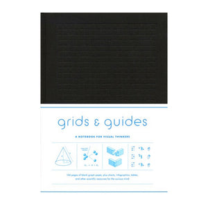 Grids & Guides (Black) A Notebook for Visual Thinkers - MeMe Antenna