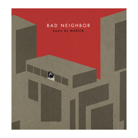 Madlib - Bad Neighbor Instrumentals (2XLP + Download Card) - MeMe Antenna