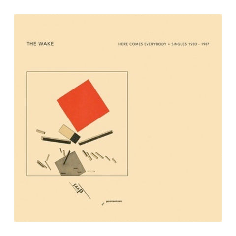 The Wake - Here Comes Everybody + Singles 2LP - MeMe Antenna