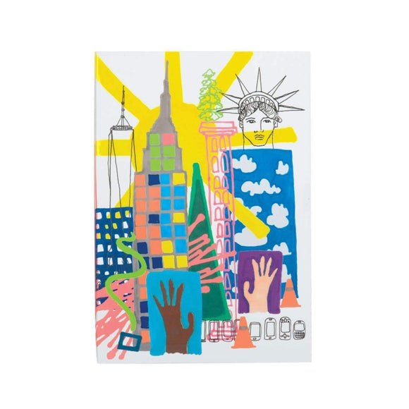 Christian Lacroix New York A5 Notebook - MeMe Antenna