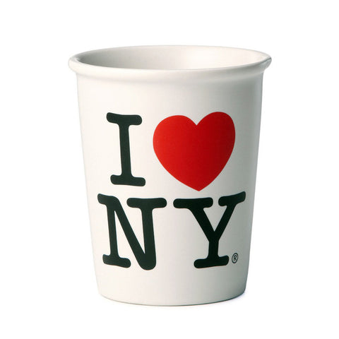 """I LOVE NY"" Ceramic Cup-MeMe Antenna"