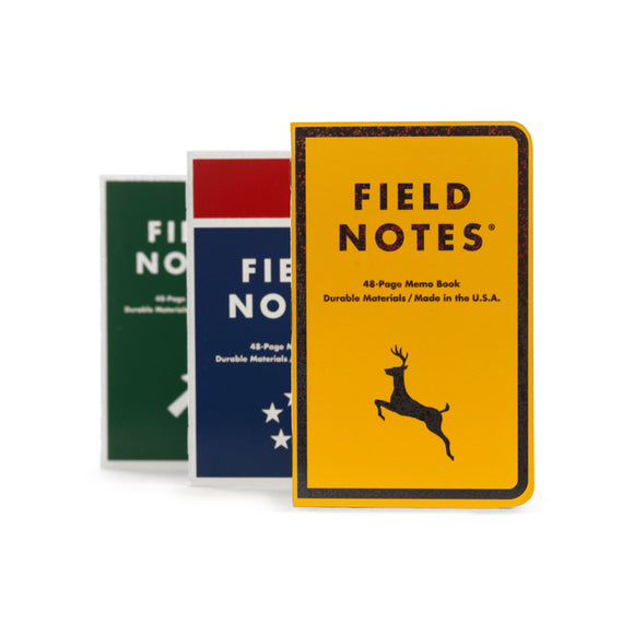 FIELD NOTES - Mile Marker America's Highway System 3-Pack - MeMe Antenna