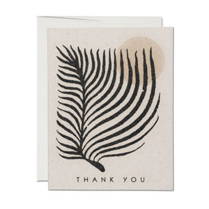 Greeting card - PALM SUN - Thank you Boxed Set (8) - MeMe Antenna