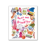 "GMBK Swedish Cloth ""Meet Me In Brooklyn"" by Natalie Andrewson - MeMe Antenna"