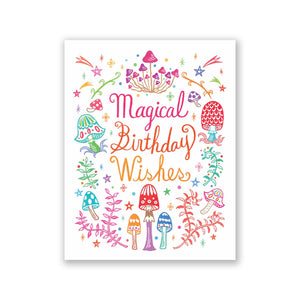"GMBK Greeting Card - ""Magical Birthday"" By Bite n' Kiss - MeMe Antenna"