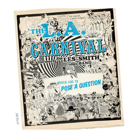 LA Carnival - Would Like To Pose A Question (2XLP) - MeMe Antenna