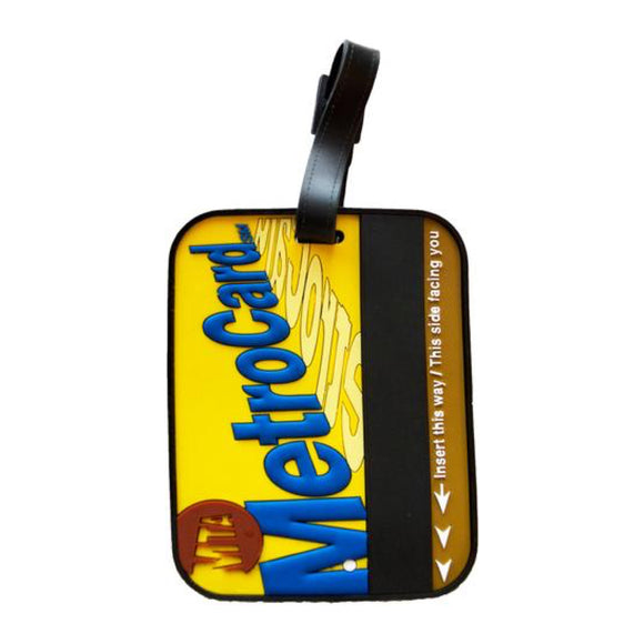 Luggage Tag - Metrocard - MeMe Antenna