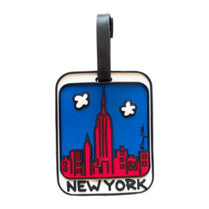 Luggage Tag - New York Skyline - MeMe Antenna