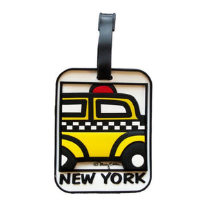 Luggage Tag - New York Yellow Cab - MeMe Antenna