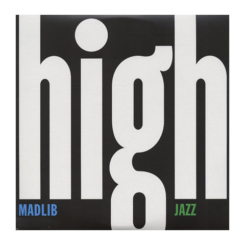 Madlib Medicine Show Vol. 7 - High Jazz (2XLP) - MeMe Antenna