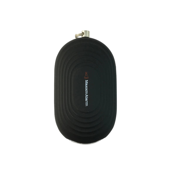 Personal Alarm: Portable Panic Button + Led Light - Matte Black - MeMe Antenna