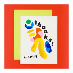 Greeting Card - Thanks a Lot Card Boxed - Set of 6 - MeMe Antenna