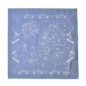 Bandana - New York City - Chambray - MeMe Antenna