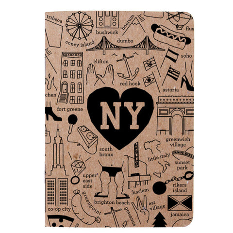 Booklet - New York City Hoods - MeMe Antenna