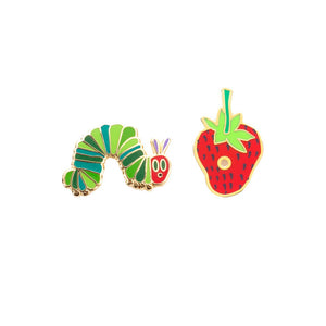 Enamel Pin : Out of Print - The Very Hungry Caterpillar - MeMe Antenna