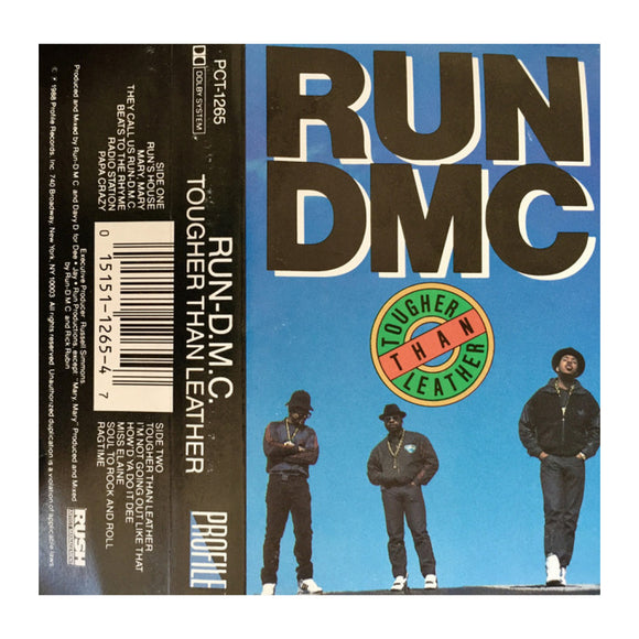 Run DMC - Tougher Than Leather (cassette) - MeMe Antenna