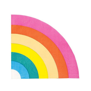 Birthday Brights Rainbow Shaped Napkins - MeMe Antenna