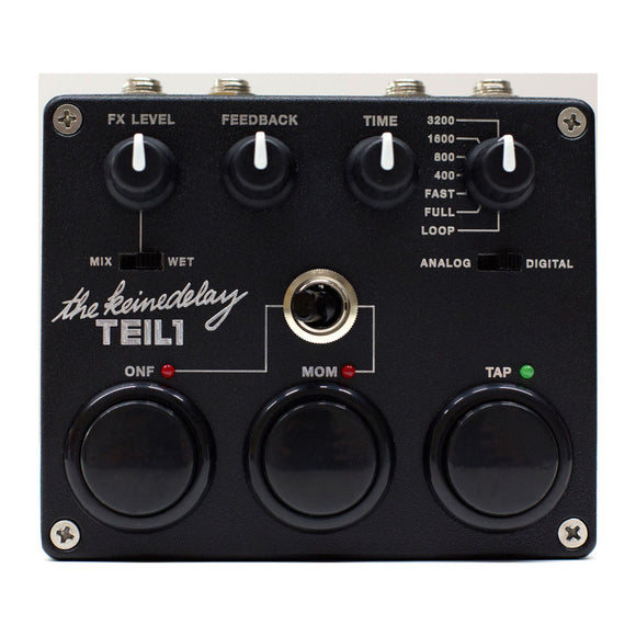 TEILE Elektronik - TEIL1 Delay - Black Edition - MeMe Antenna