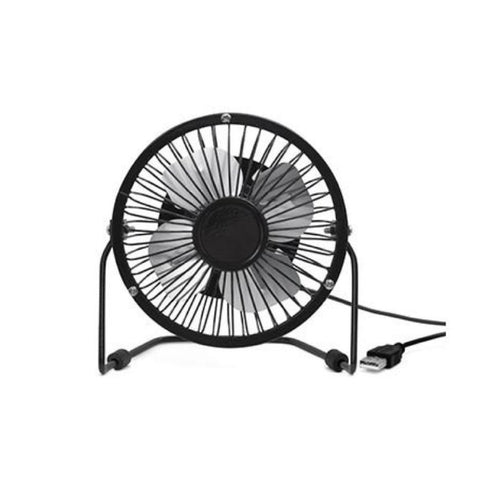 USB Desk Fan - Black - MeMe Antenna