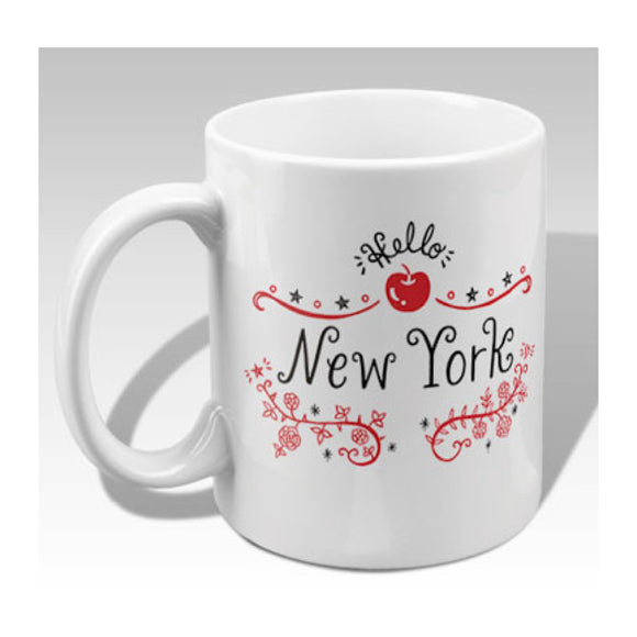 MeMe Antenna Mug - New York Apple By Bite n' Kiss - MeMe Antenna