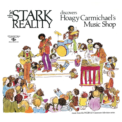 The Stark Reality Discovers Hoagy Carmichael's Music Shop (3XLP) - MeMe Antenna