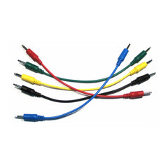 Ad Infinitum 3.5mm Mono Colored Patch Cable (5-pack) - MeMe Antenna