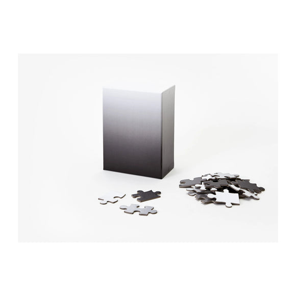Gradient Puzzle Small - Black/White - MeMe Antenna