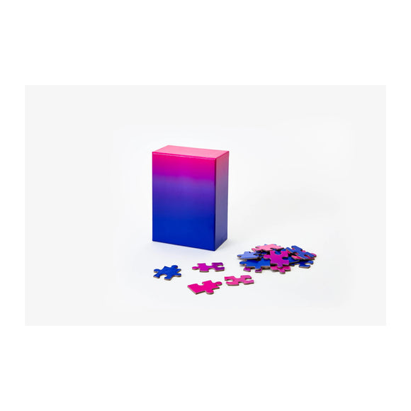 Gradient Puzzle Small - Blue/Pink - MeMe Antenna