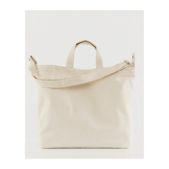 BAGGU - Horizontal Duck Bag (Natural Canvas) - MeMe Antenna