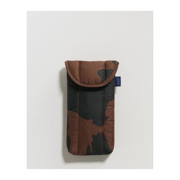 BAGGU - Puffy Glasses Sleeve (Black and Brown Cow) - MeMe Antenna
