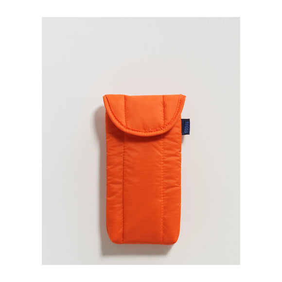 BAGGU - Puffy Glasses Sleeve (Orange) - MeMe Antenna