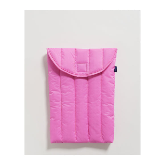 "BAGGU - Puffy Laptop Sleeve 13"" (Bright Pink) - MeMe Antenna"