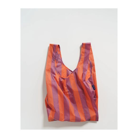 BAGGU - Standard Baggu (Orange and Mauve Stripe) - MeMe Antenna