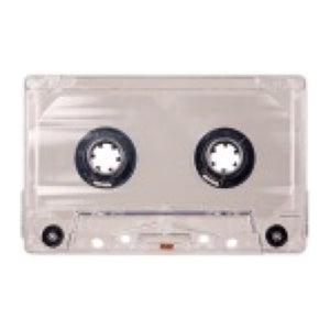 Blank Cassette Tape - 10 Min Type-I Normal Bias Tabs-Out - MeMe Antenna