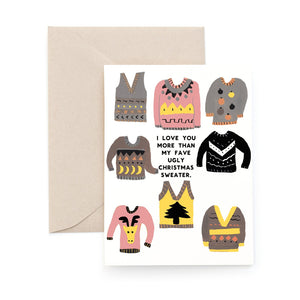 Greeting Card - Ugly Sweaters Boxed Set (8) - MeMe Antenna