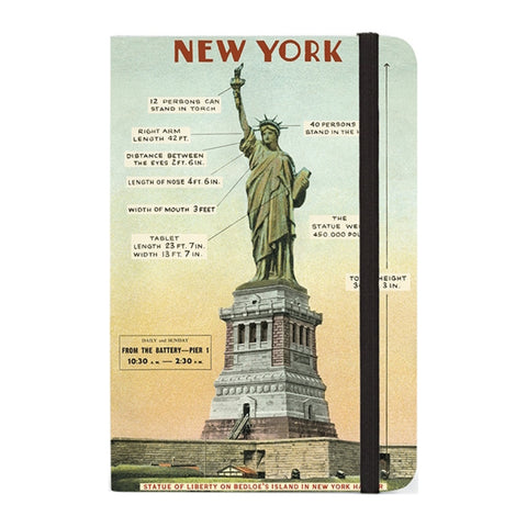 Small Notebook: Vintage New York (Statue of Liberty) - MeMe Antenna