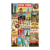 Puzzle - NYC Collage 500 Piece Puzzle - MeMe Antenna
