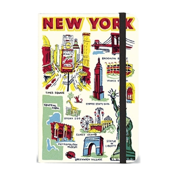 Small Notebook - New York City Icons - MeMe Antenna