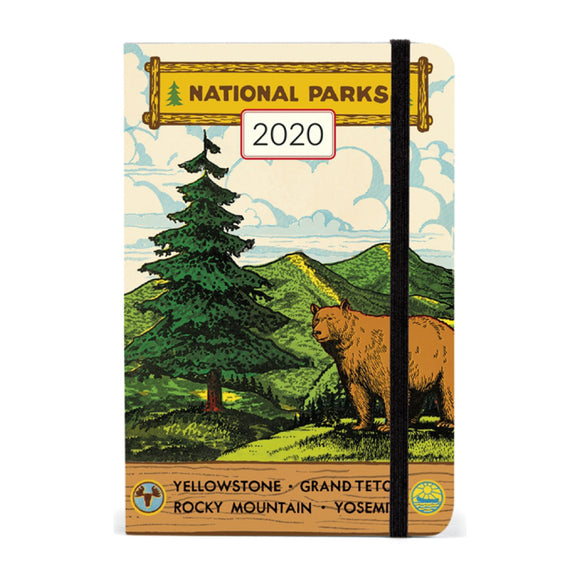 Planner - National Parks Weekly Planner 2020 - MeMe Antenna