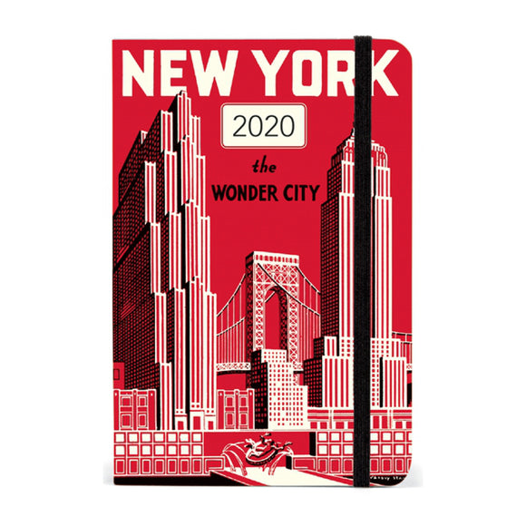 Planner - New York Weekly Planner 2020 - MeMe Antenna