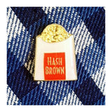 Enamel Pin : Charming Afternoon - Hash Brown - MeMe Antenna