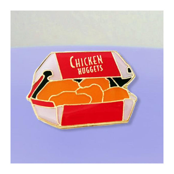 Enamel Pin : Charming Afternoon - Chicken Nuggets - MeMe Antenna